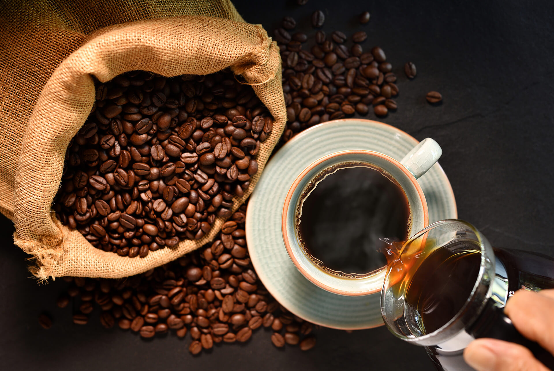 Jor Products herbruikbare koffie producten homepage achtergrond
