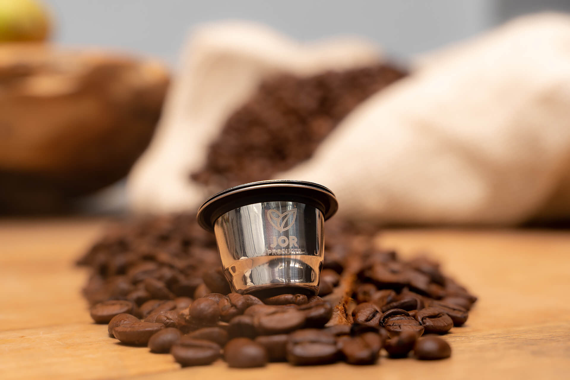 Jor products herbruikbare nespresso cup
