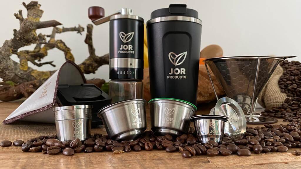 Jor products herbuikbare koffie producten 2